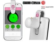 Monitor płodności Afrodyta Smart test owulacyjny na ślinę na smartfon