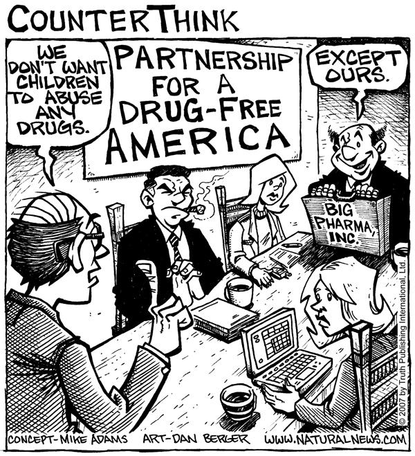 Partnership for a Drug-Free America (comic)