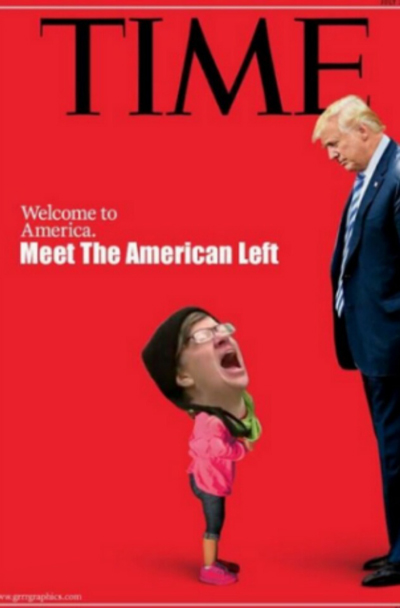 "The most hilarious memes mocking TIME's fake news ""screaming migrant girl"" magazine cover Time-Welcome-to-America-Meme-Left-400"