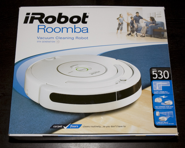 Roomba 530 Vacuum Robot Product Review Page 18