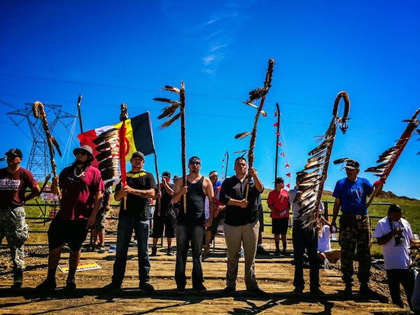 Image: Officials tried to block vital supplies from reaching protesters at Dakota Access Pipeline