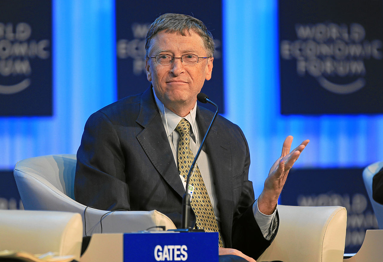 Image: Same Bill Gates that pushes mosquito vaccines and depopulation agendas now celebrates Black Lives Matter and trans activism