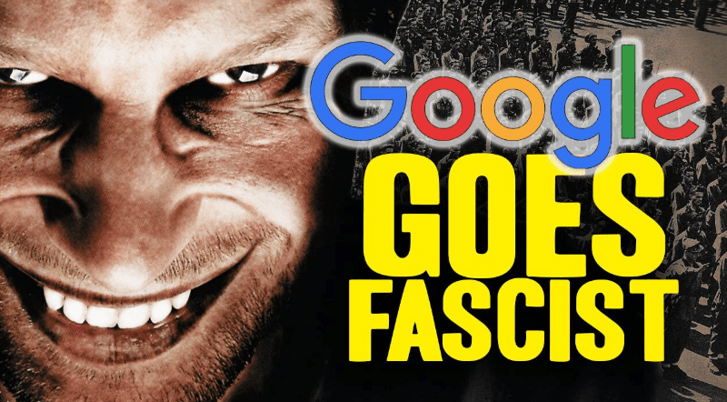 "Image: Censorship: Google to start flagging ""offensive"" content as another form of censorship"