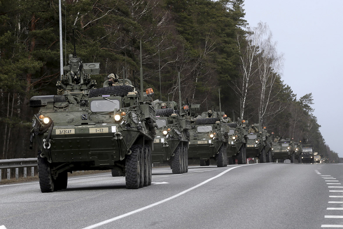 Image: Army preps for civil unrest in America's largest cities as risk of civil war looms