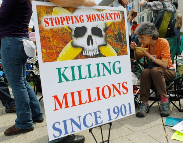 Image: Thousands march worldwide against the world's most hated company, Monsanto