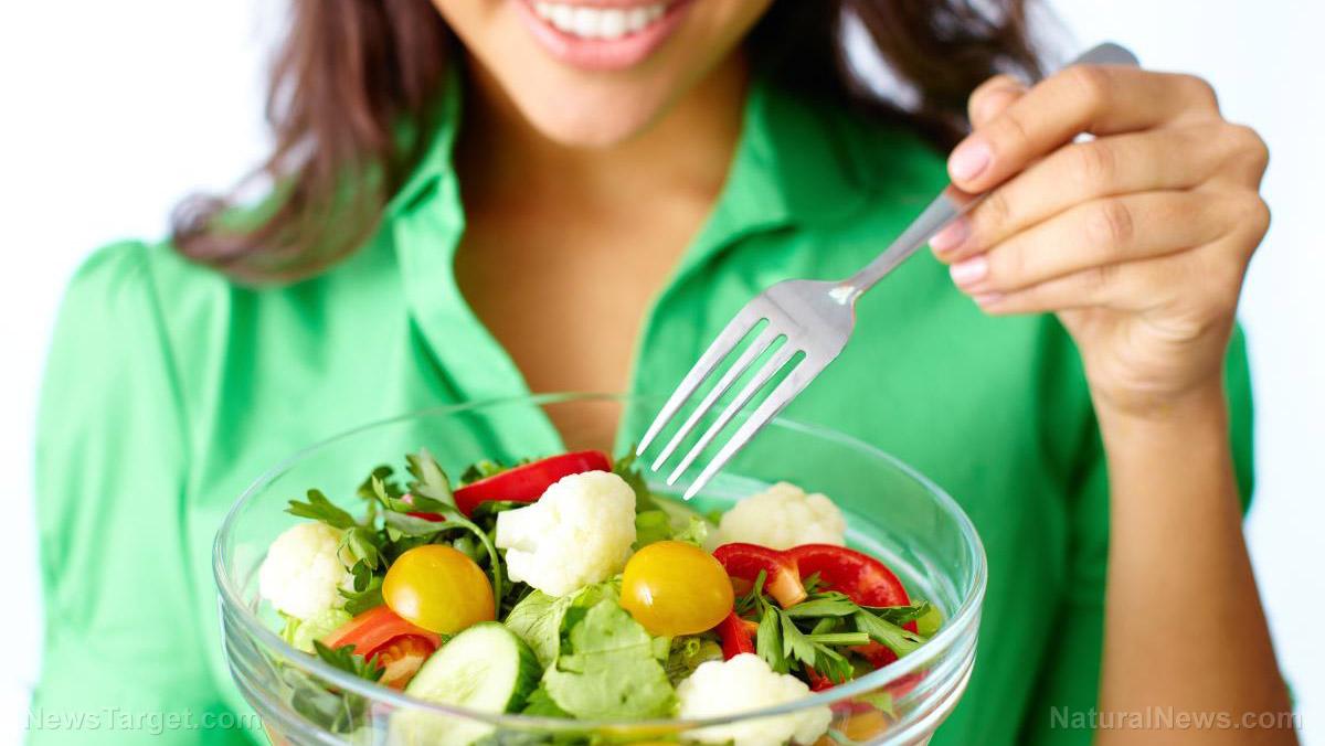 圖片:醫生建議以植物為基礎的飲食更好的健康