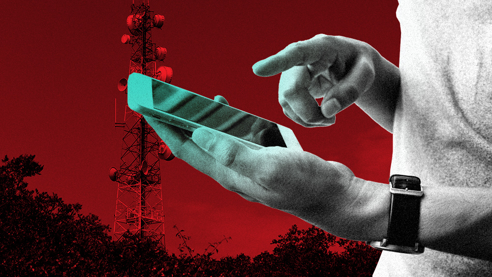 Image: Worried residents are fighting against 5G rollouts
