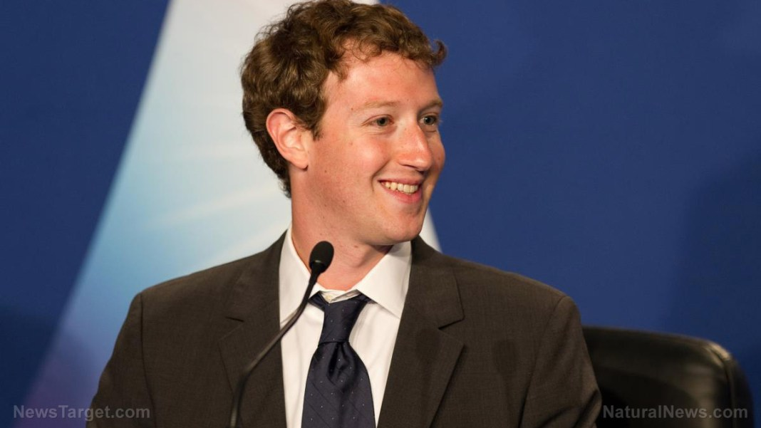 Image: Facebook founder Mark Zuckerberg plays election fixer as he bans ALL political ads the week before the election