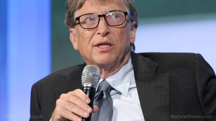 Image: Bill Gates denies ever talking about digital vaccine passports, but there's video proof he did