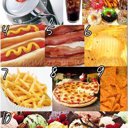 Limitar el consumo de ciertos alimentos