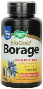 Borage oil hair growth