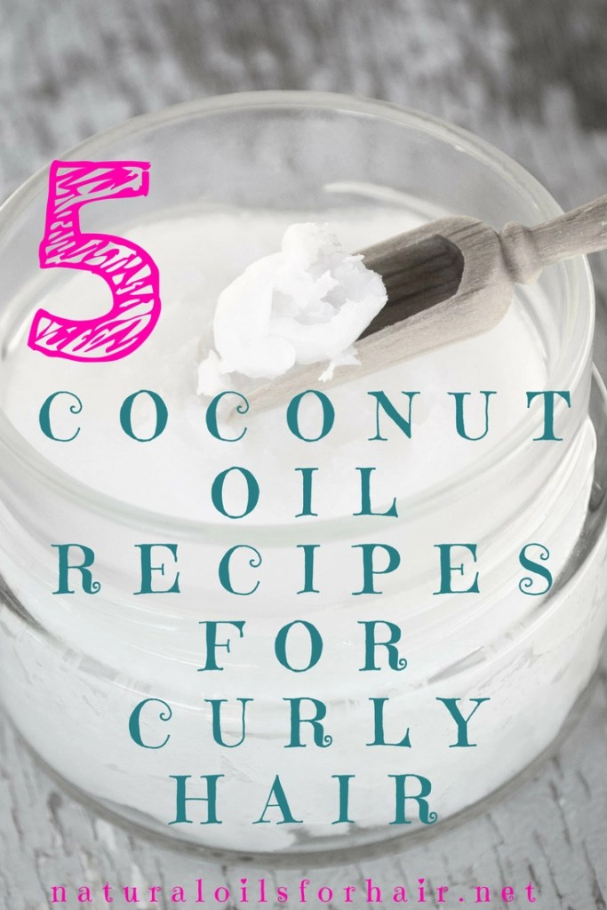 5 Coconut Oil Recipes for Curly Hair