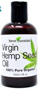 Sweet Essentials Unrefined Hemp Seed Oil