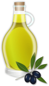olive oil for softer and shinier hair