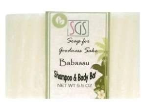 soap for goodness sake babassu shampoo bar