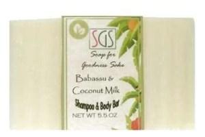 soap for goodness sake babassu shampoo bar
