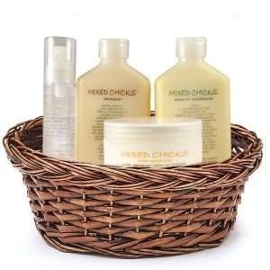 Mixed Chicks Complete Hair Care Products Gift Basket