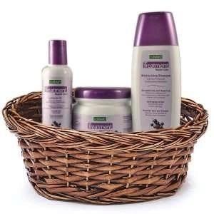 Nunaat Treatment Repair Hair Care Trio Gift Basket