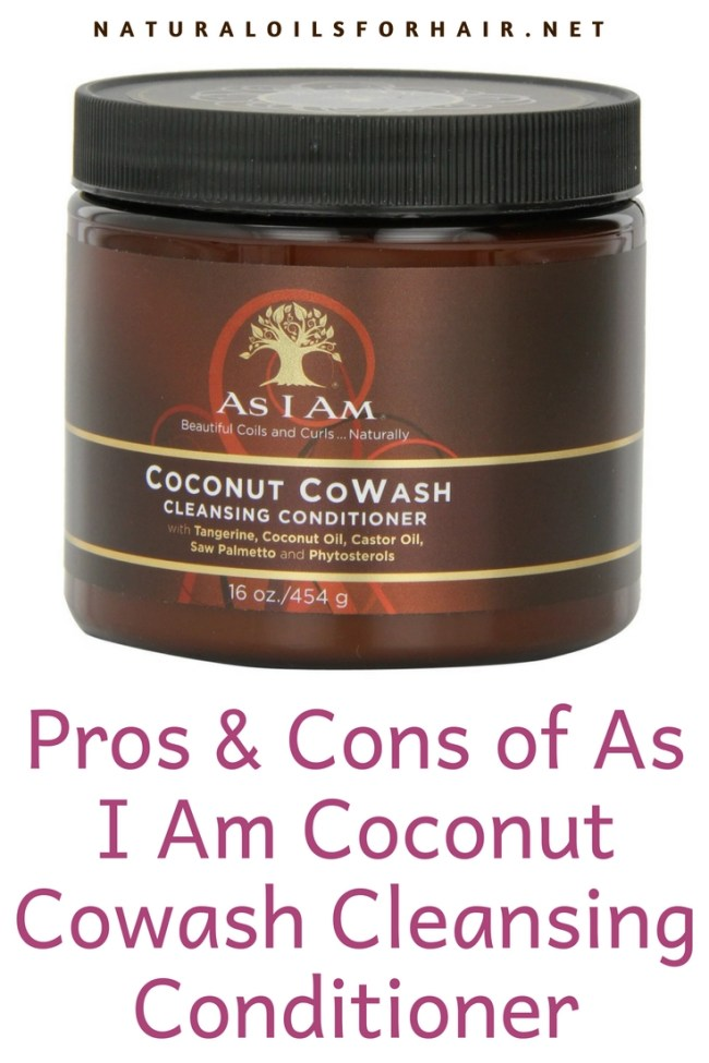 Pros and Cons of As I Am Coconut Cowash Cleansing Conditioner