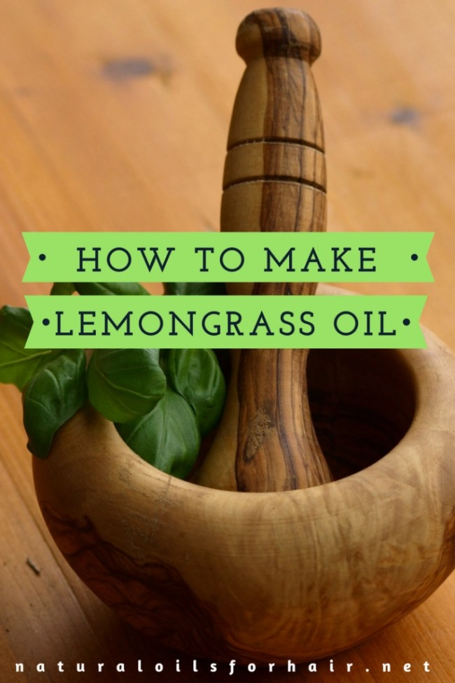 How to make lemongrass oil. Simple, fast and effective