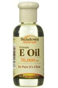 sundown naturals vitamin e oil