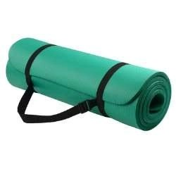 GoYoga All-Purpose 1_2-Inch Extra Thick High Density Anti-Tear Exercise Yoga Mat with Carrying Strap