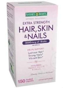 Nature's Bounty Extra Strength Hair Skin Nails