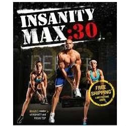 Shaun T's Insanity Max 30 DVD Workout