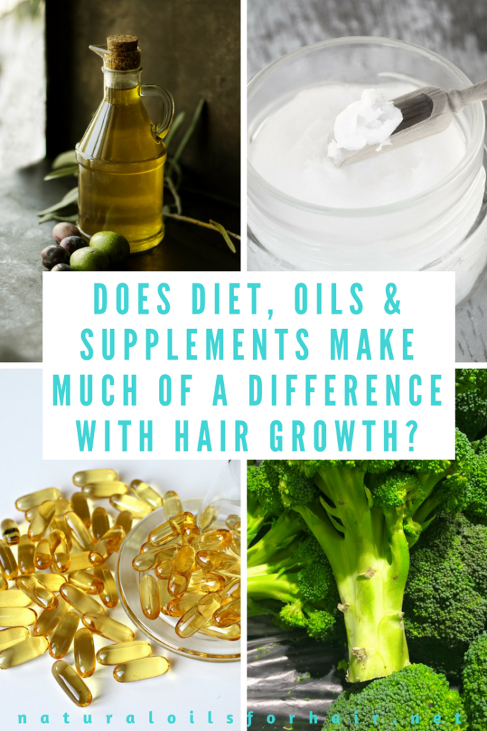 Does diet, oils and supplements really make much of a difference when it comes to hair growth? I break things down in this article
