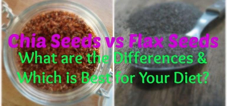 chia seeds vs flax seeds