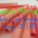 Lupita Nyong'o Debuts a Curly Hairstyle at Disney's D23 EXPO