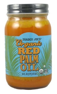 trader joe's organic red palm oil