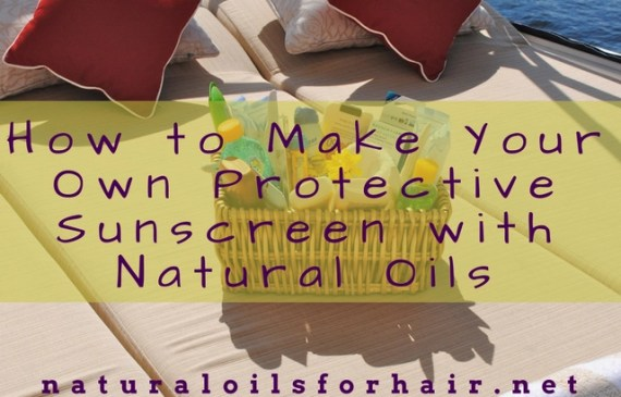 How to Make Your Own Protective Sunscreen with Natural Oils