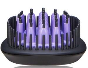 dafni ceramic hair brush straightener reveiw