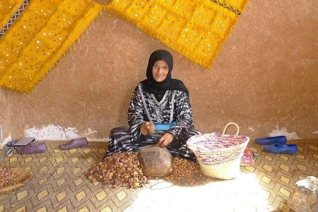 argan oil cooperative in morocco