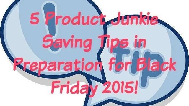 savings tips for black friday 2015