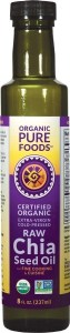 Organic Pure Foods Chia Seed Oil