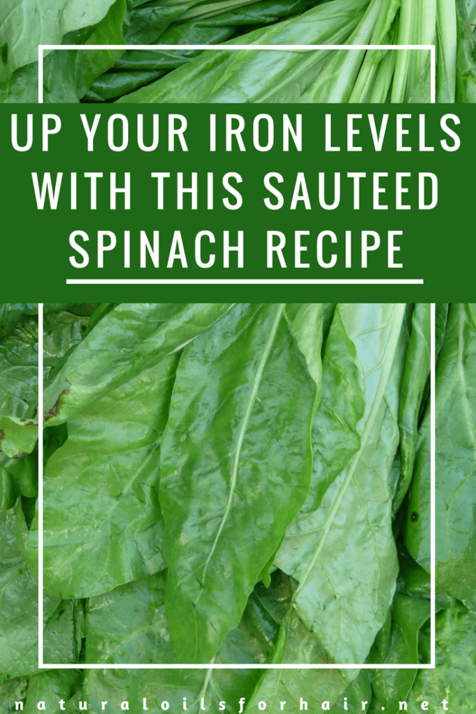 Up your iron levels with this sautéed spinach recipe