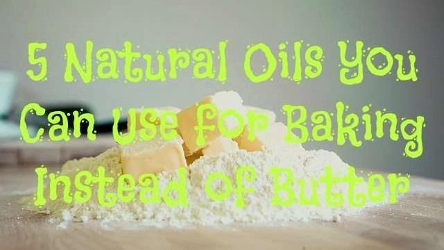 5-natural-oils-for-baking-besides-butter