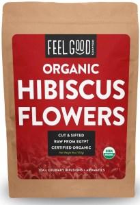 Feel Good Organics Dried Hibiscus Flowers