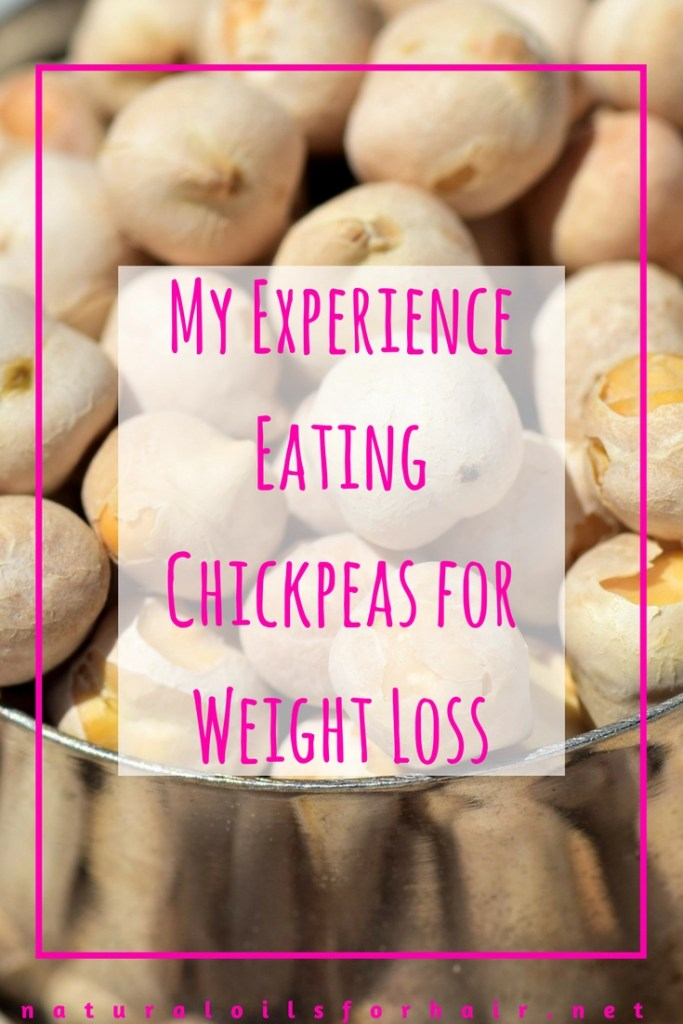 My Experience Eating Chickpeas for Weight Loss