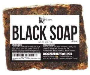 Raw Apothecary African Black Soap