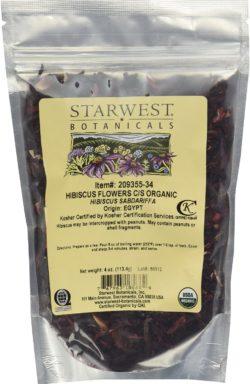 Starwest Botanicals Dried Hibiscus Flowers