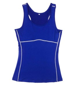 Women's Sports Gym Running Base Layer Tights Vest Sleeveless Compression Shirt