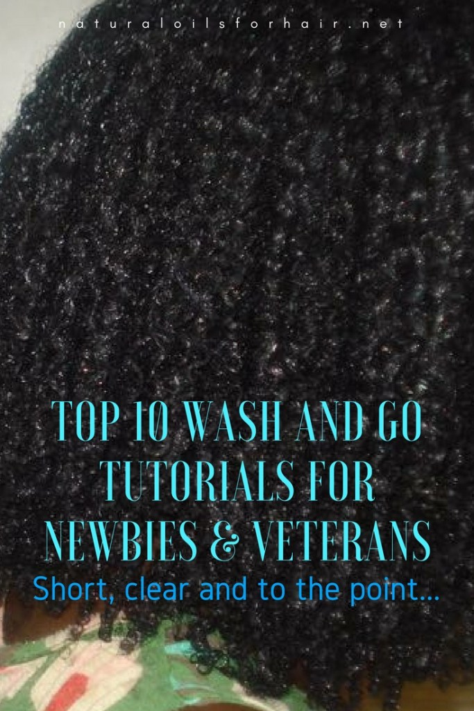 Top 10 wash and go tutorials for newbies and veterans
