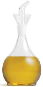 Chef's Planet Glass Oil Decanter and Cruet