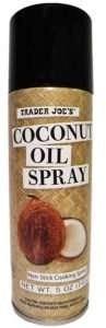 Trader Joe's Coconut Oil Non Stick Cooking Spray