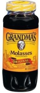 Grandmas unsulphured molasses