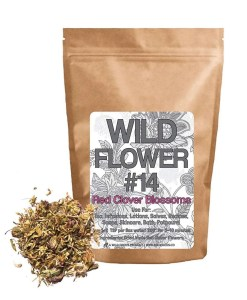 Wild Foods Red Clover Flowers