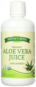 Nature's Truth New Organic Aloe Vera Juice